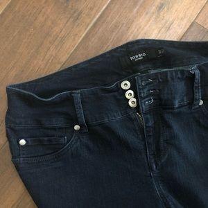 Torrid Dark Wash Stretch Jeans